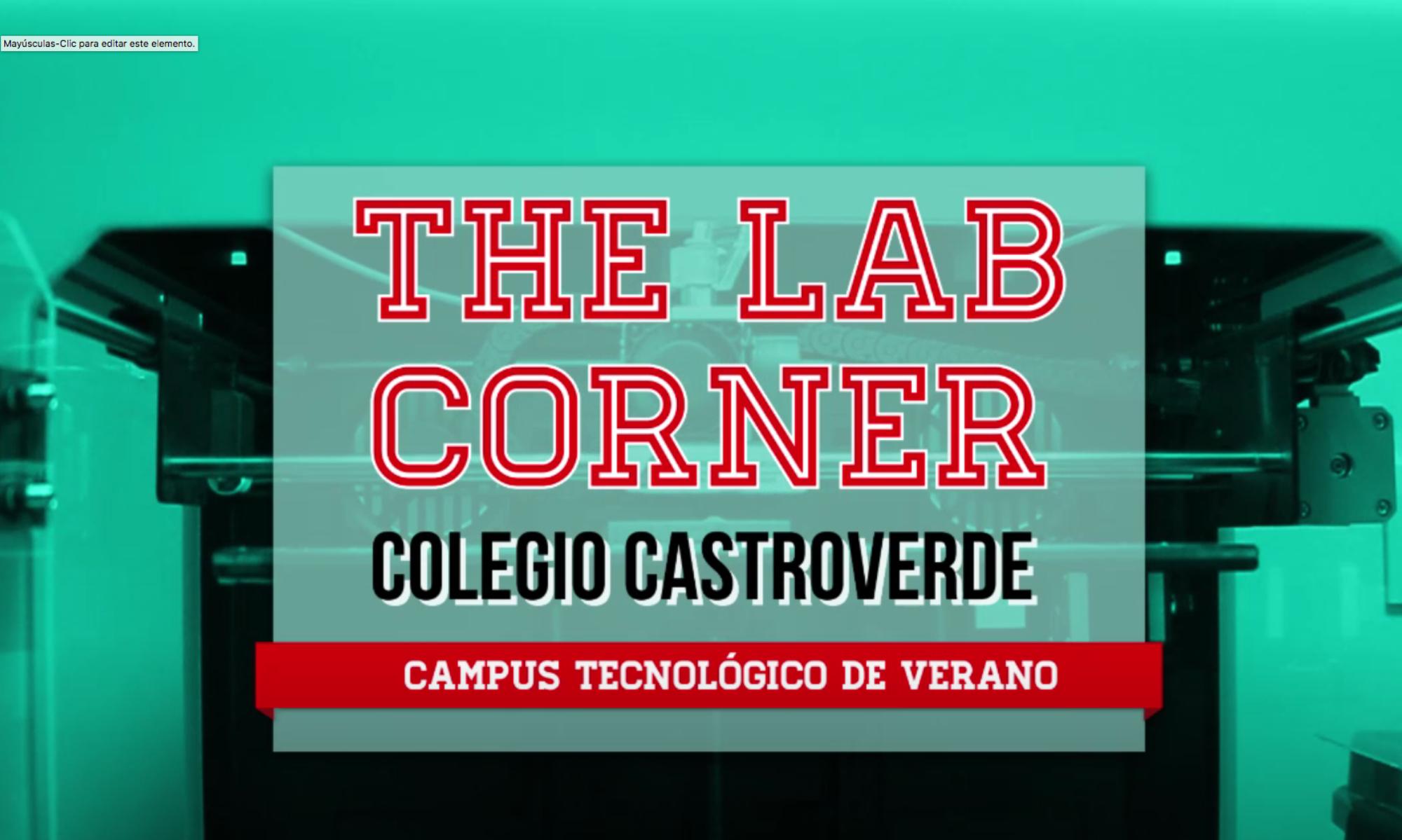 THE LAB CORNER